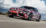 Toyota Supra 2019 prototype first drive review hero front