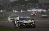 BTCC Thruxton Cammish