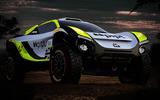 Jenson Button's JBXE car