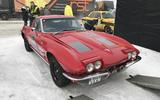 GP Ice Race Corvette