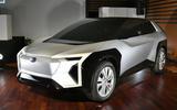 Subaru electric concept
