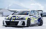 Volkswagen Golf electric race car concept