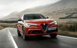 Alfa Romeo Stelvio - hero front