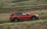 Alfa Romeo Stelvio Quadrifoglio 2020 UK first drive review - hero side