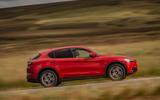 Alfa Romeo Stelvio Sprint 2020 UK first drive review - hero side