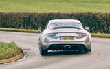 2 Alpine A110 Legende GT 2021 UK first drive review hero rear