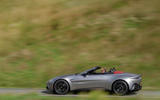 Aston Martin Vantage Roadster 2020 UK first drive review - hero side