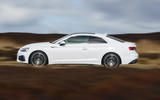 Audi A5 Coupe 2020 UK first drive review - hero side