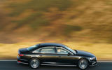 Audi A8 60 TFSIe 2020 UK first drive review - hero side