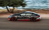 Audi RS E-tron GT 2021 prototype drive - hero side