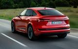 Audi E-tron S Sportback 2020 first drive review - hero rear
