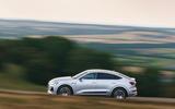 Audi E-tron Sportback 55 2020 UK first drive review - hero side
