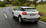 Audi Q2 2020 first drive review - hero rear