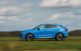 Audi Q3 Sportback 2019 UK first drive review - hero side