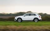Audi Q5 40 TDI Sport 2020 UK first drive review - hero side