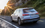 Audi Q7 2019 first drive review - hero rear