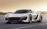 Electric Audi R8 - render