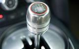 Audi R8 - gearstick