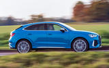 Audi RS Q3 Sportback 2019 UK first drive review - hero side