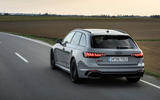 Audi RS4 Avant 2020 first drive review - hero rear