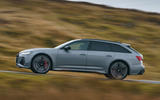 Audi RS6 2020 UK first drive review - hero side