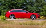 Audi S6 Avant TDI 2019 UK first drive review - hero side