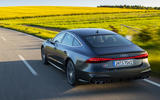 Audi S7 TDI 2019 first drive review - hero rear