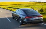 Audi S7 TDI 2019 first drive review - hero rear