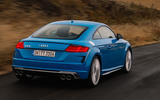 Audi TTS 2018 first drive review hero rear