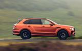Bentley Bentayga 2020 UK first drive review - hero side