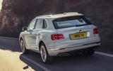 Bentley Bentayga hybrid 2019 first drive review - hero rear
