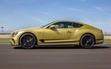 2 Bentley Continental GT Speed 2021 UK FD hero side