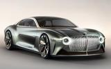 Bentley EXP 100 GT concept car - static front