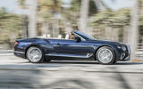 Bentley Continental GT Convertible 2019 UK first drive review - hero side