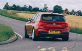 Birds BMW m140i 2020 UK first drive review - hero rear