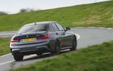 BMW 3 Series 330i 2019 UK review - hero rear