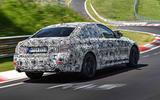BMW 3 Series 330i M Sport prototype track testing rear