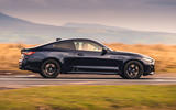 BMW 420i Coupe 2020 UK first drive review - hero side