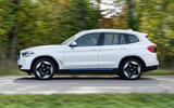 BMW iX3 2020 first drive review - hero side