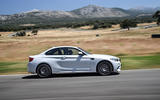 BMW M2 Competition 2018 first drive review hero side