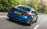 BMW M3 CS 2018 review hero rear