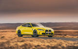 2 BMW M4 2021 UK first drive review hero front