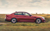BMW M5 Competition 2020 UK first drive review - hero side