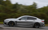 BMW M8 Gran Coupe 2020 UK first drive review - hero side