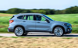 BMW X1 25d 2019 first drive review - hero side
