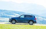 BMW X3 xDrive30e 2020 first drive review - hero side