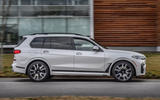 BMW X7 M50i 2020 first drive review - hero side