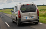 Citroen Berlingo 2018 first drive review hero rear