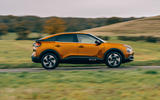 Citroen C4 Puretech 2021 UK (LHD) first drive review - hero side