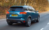 Citroen C5 Aircross 2019 UK first drive review - hero rear